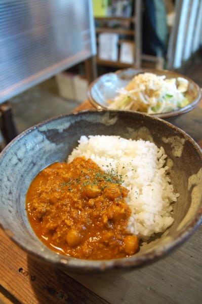 クワランカ_ひよこ豆のキーマカレー