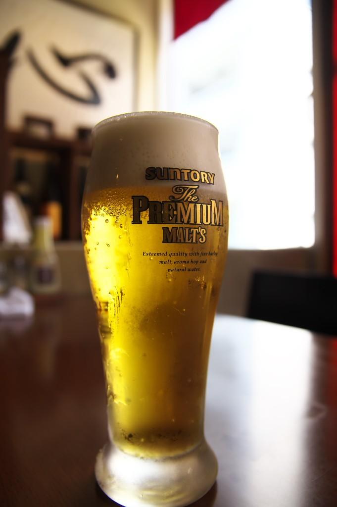 やぐや_ランチビール