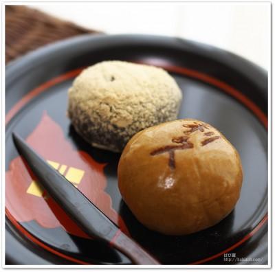 京右近_饅頭とわらび餅2