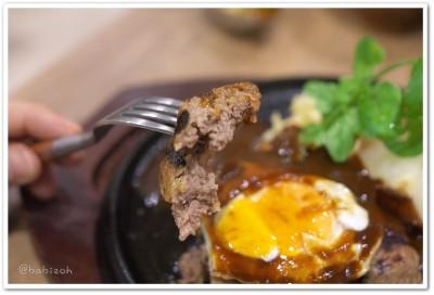 一肉十菜_ハンバーグ4