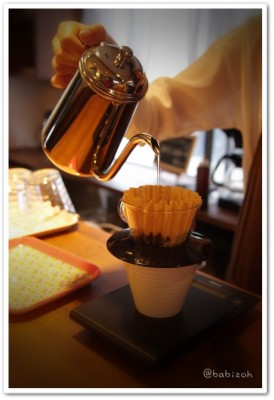 CafeMignon_ドリップ中