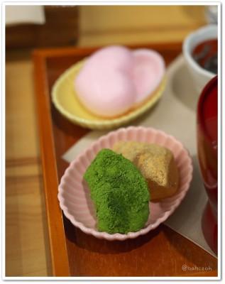 茶の愉_ほうじ茶お汁粉2