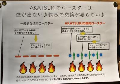 Akatsuki_ロースター説明