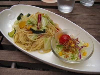 茶の愉_2009ランチパスタ