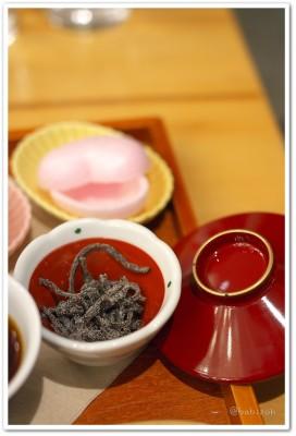 茶の愉_ほうじ茶お汁粉4