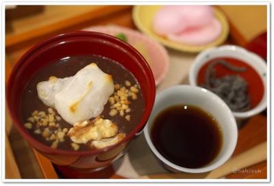 茶の愉_ほうじ茶お汁粉3