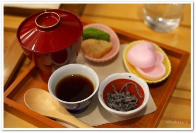 茶の愉_ほうじ茶お汁粉1