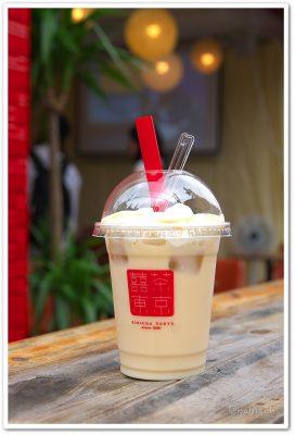 喜喜茶東京_ソイラテ凍頂烏龍茶