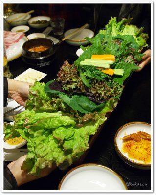 オムニ食堂_サムギョプサル1