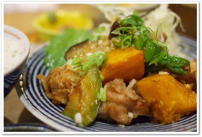 もがめ食堂_鶏と秋野菜の香味醤油1