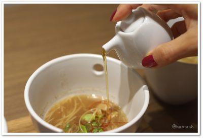 菜茶房_麺線_黒酢