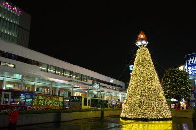 kichijoji_xmastree_駅前